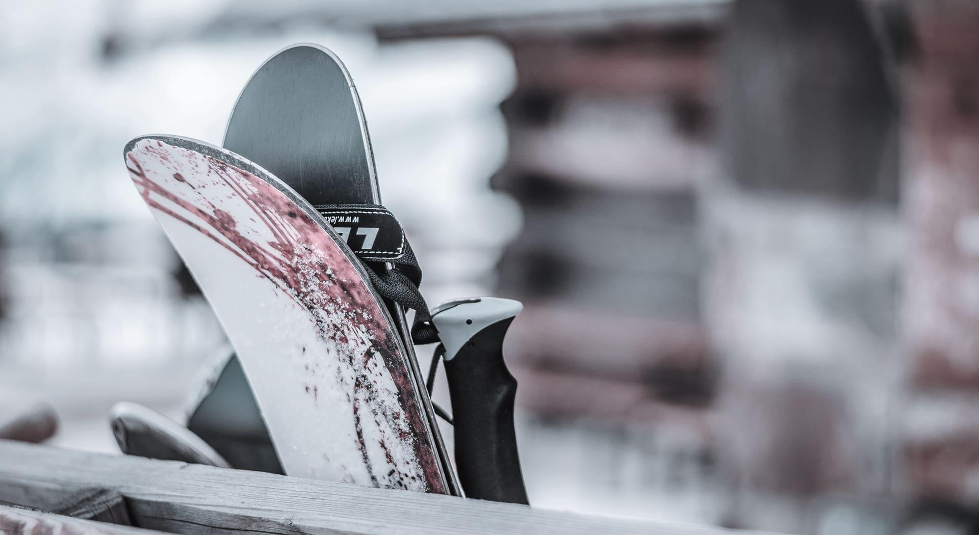Skiaufbewahrung und Trockner der Wochtla Buam